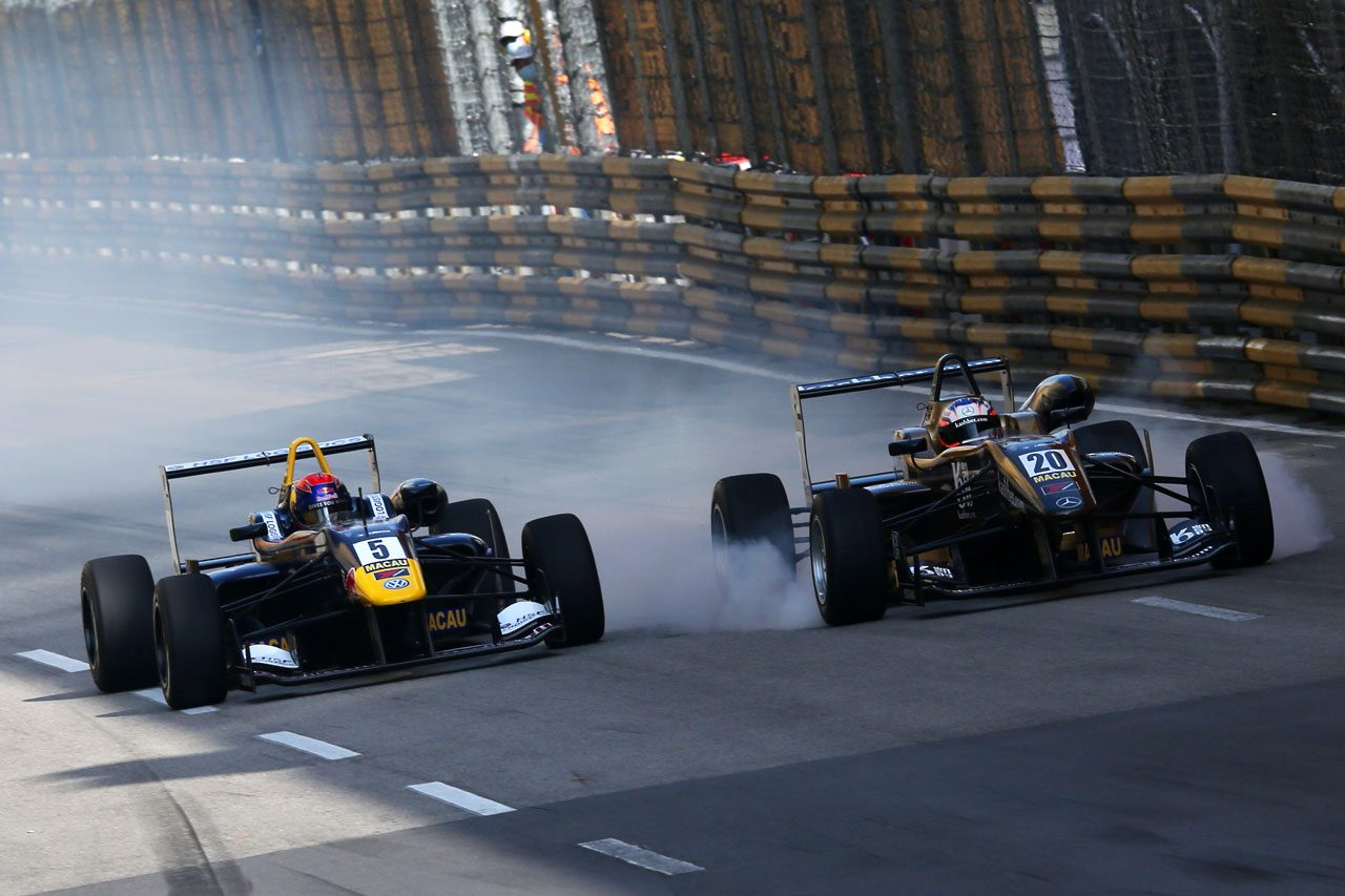 F3マカオGP:予選レースはロゼンクビストが勝利(3)