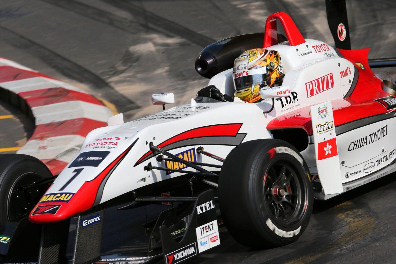 F3マカオGP:予選レースはロゼンクビストが勝利(5)