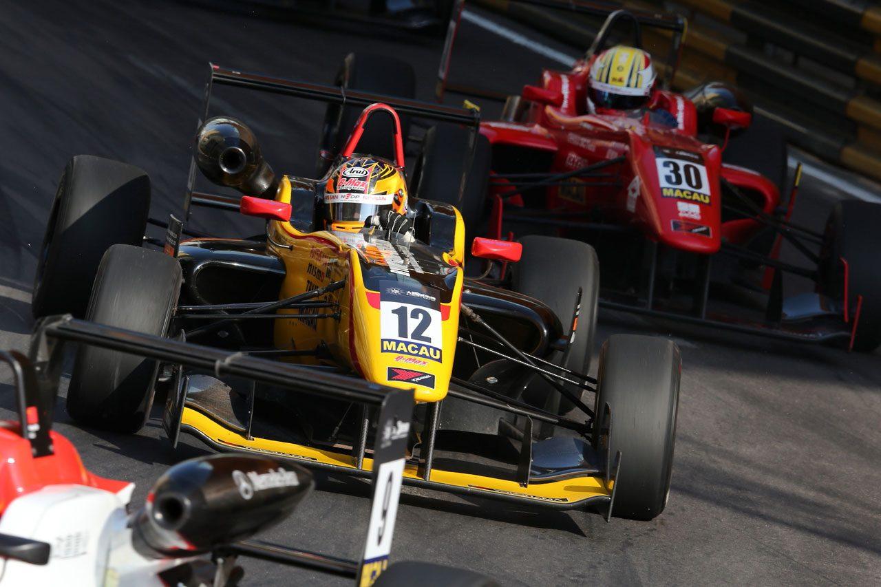 F3マカオGP:予選レースはロゼンクビストが勝利(6)