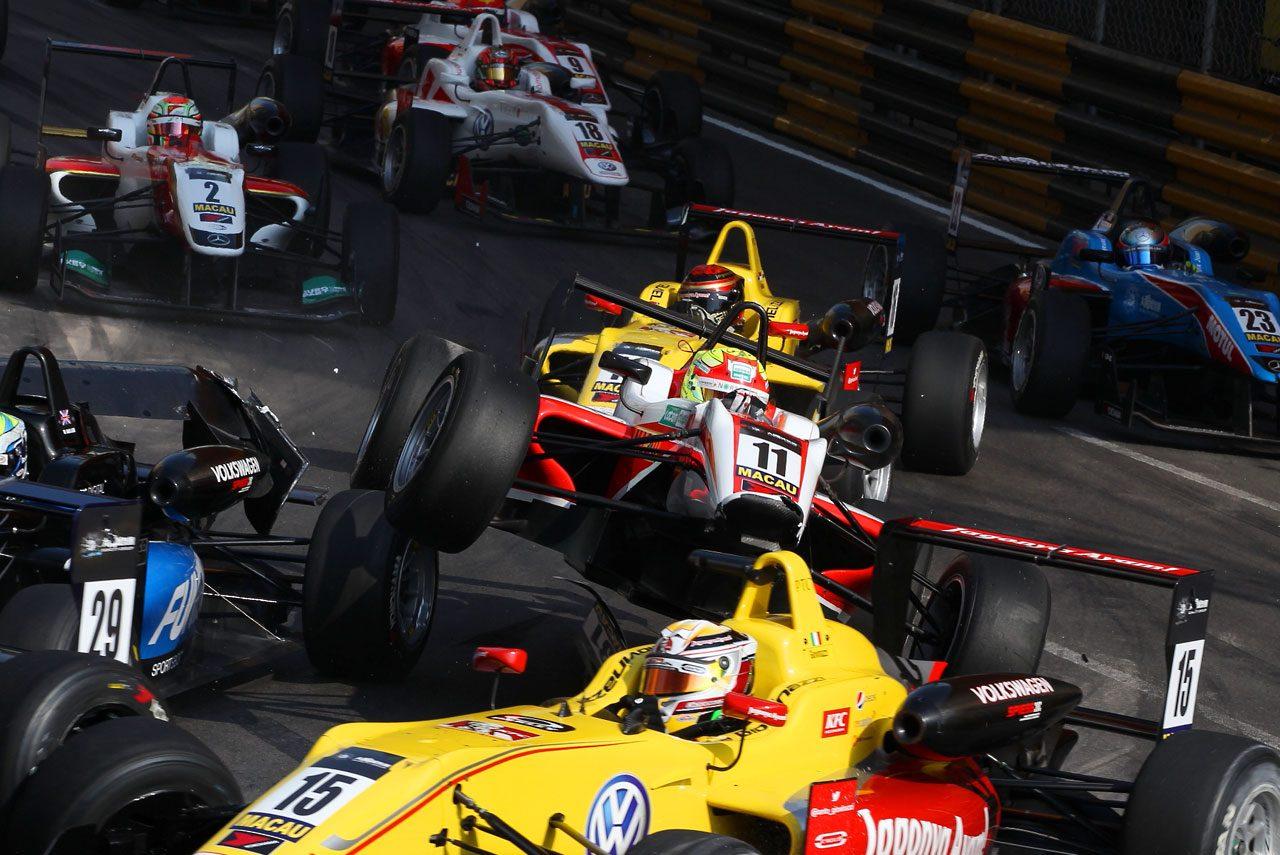 F3マカオGP:予選レースはロゼンクビストが勝利(7)