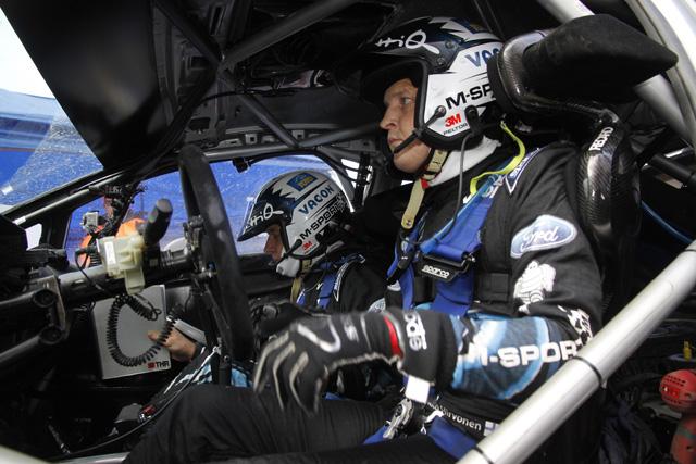 WRC英国:デイ2「途中までは3位でも構わない」(1)
