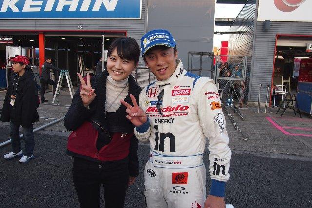 3位表彰台獲得の伊沢選手と