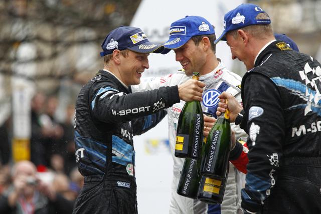 WRC英国:デイ3「今日だけは感傷的に」(1)