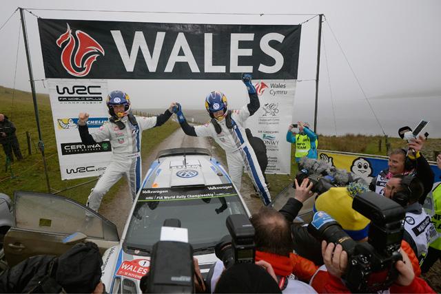 WRC英国:デイ3「今日だけは感傷的に」(2)