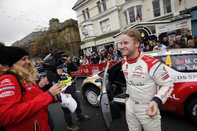 WRC英国:デイ3「今日だけは感傷的に」(3)