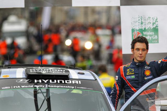 WRC英国:デイ3「今日だけは感傷的に」(4)