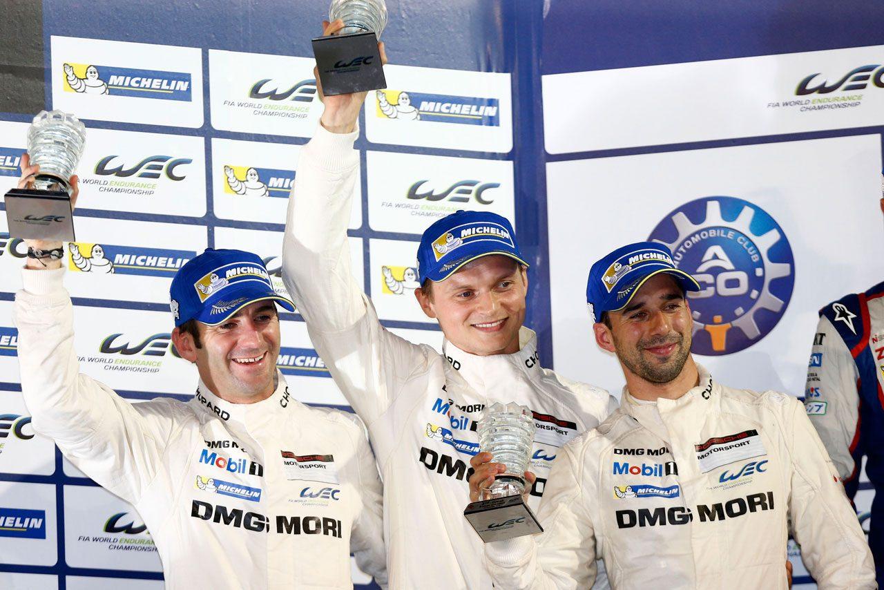 ポルシェ、WECバーレーンで初のダブル表彰台獲得(3)