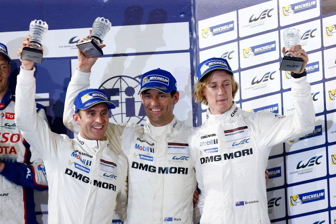 ポルシェ、WECバーレーンで初のダブル表彰台獲得(4)