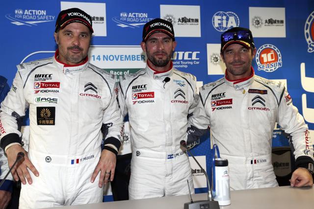 WTCCシトロエン、来季SLRとの5台体制を発表(2)