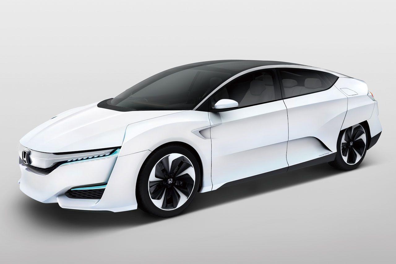 ホンダ、新燃料電池車『FCV CONCEPT』を初披露(2)