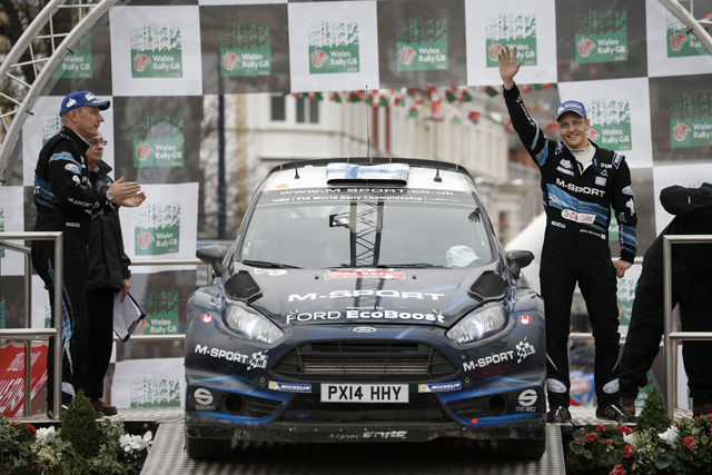 WRC英国ポスト会見「あの右コーナーが最後のコーナー」(1)