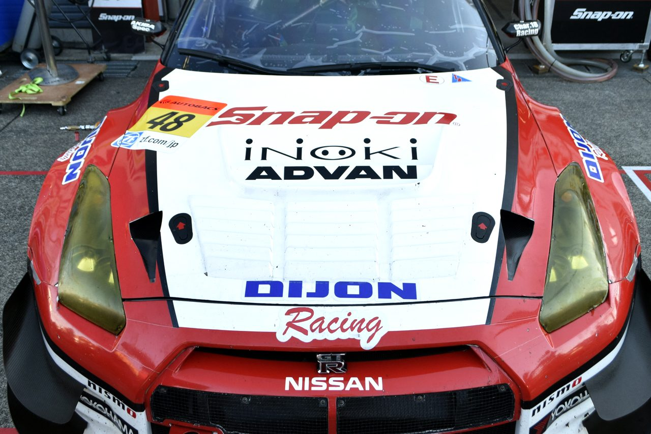 SGT最終戦 ボンネットギャラリー Snap-on DIJON Racing GT-R