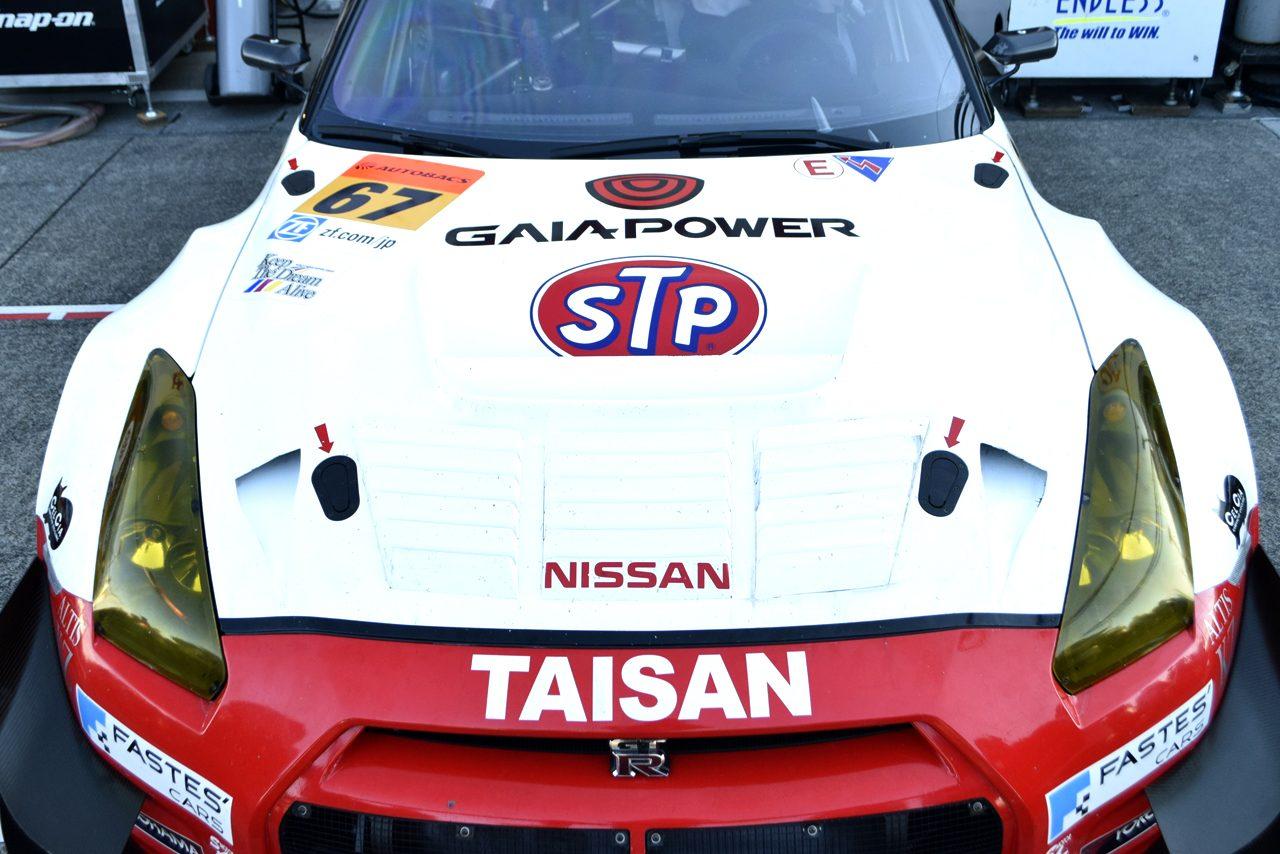 SGT最終戦 ボンネットギャラリー STP タイサン GAIA POWER GT-R