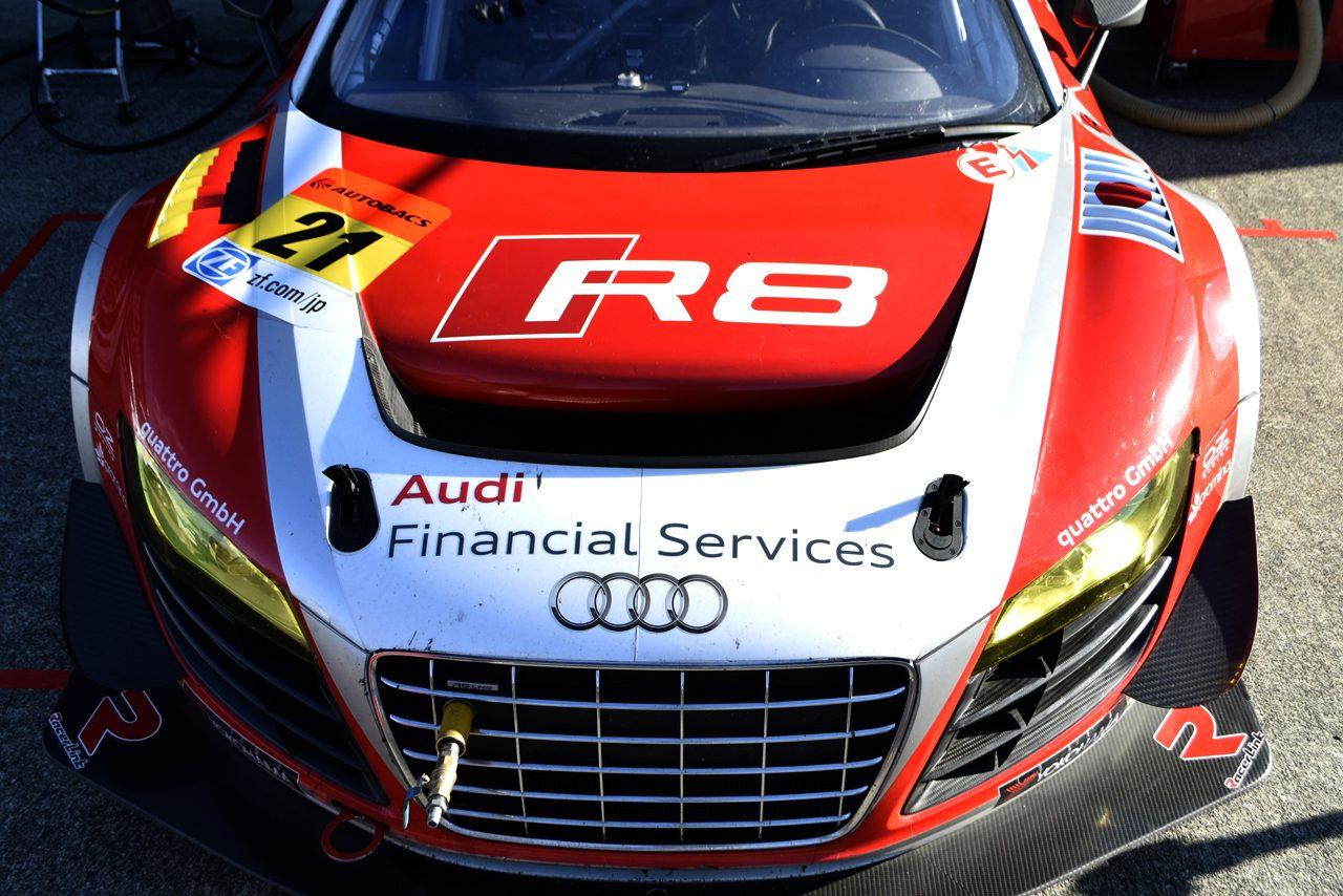 SGT最終戦 ボンネットギャラリー Audi R8 LMS ultra