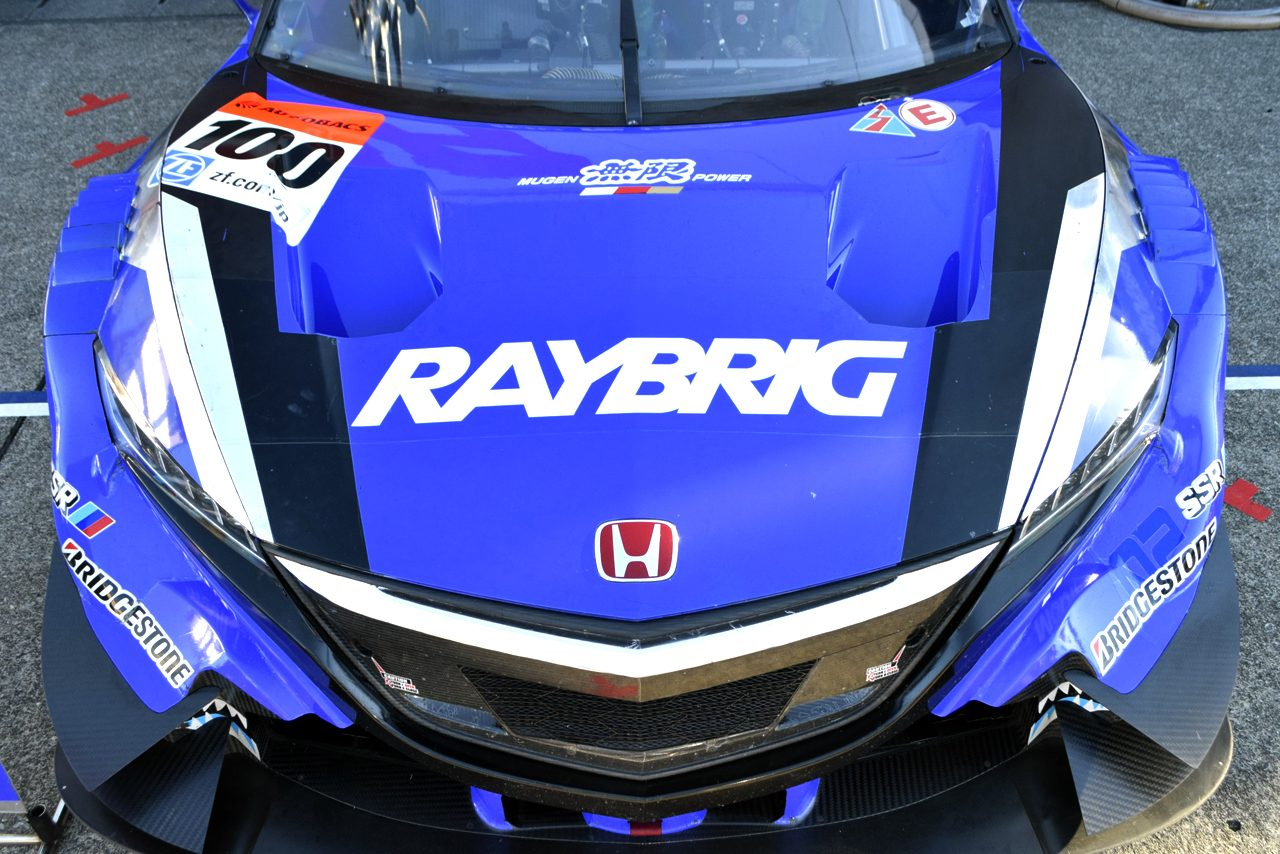 SGT最終戦 ボンネットギャラリー RAYBRIG NSX CONCEPT-GT