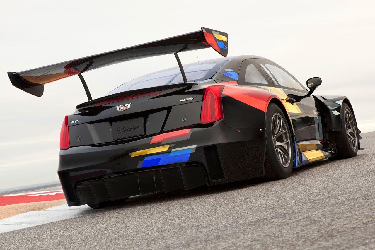 キャデラック、GT3規定準拠のATS-V.Rを発表(4)