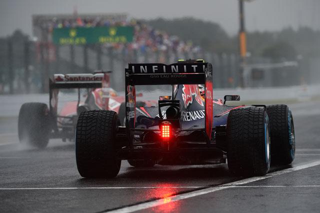 F1本格ウエットテストが実施か。安全性向上のため(1)