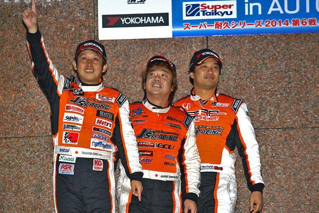 BRP★J'S RACINGフィット3、今季クラス王座獲得(5)