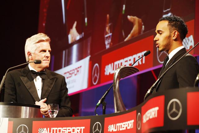 最優秀ドライバーにハミルトン、英オートスポーツ賞(1)