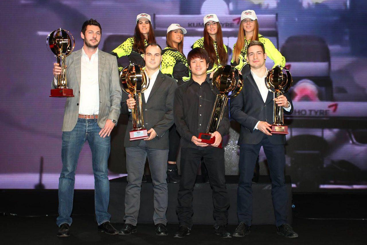 佐藤公哉、AUTO GP年間表彰式に王者として出席(1)
