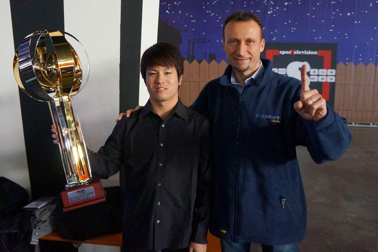 佐藤公哉、AUTO GP年間表彰式に王者として出席(2)