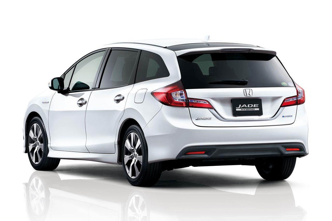 ホンダ、新型乗用車『JADE』をHPで先行公開(3)