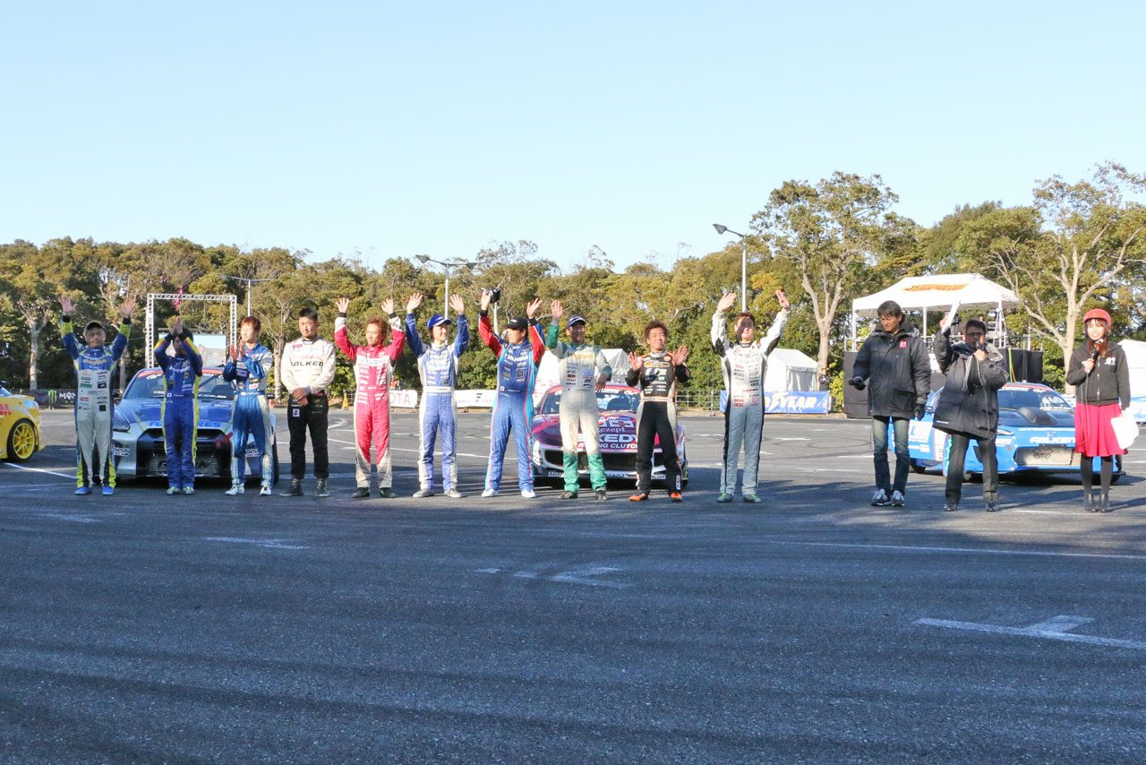TASでD1のEX戦開催。EVドリフトカーも走行披露(5)
