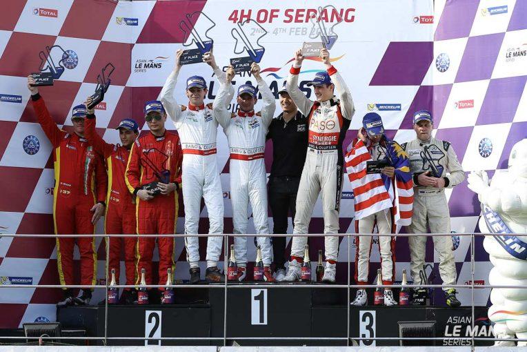 ル・マン/WEC | AsLMS最終戦セパン:ジャッキー・チェン・DCレーシングが勝利。シーズン全勝でチャンピオン獲得