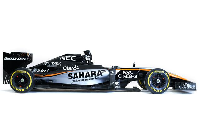 【2015 新車発表】フォース・インディアVJM08(カラーリングのみ)