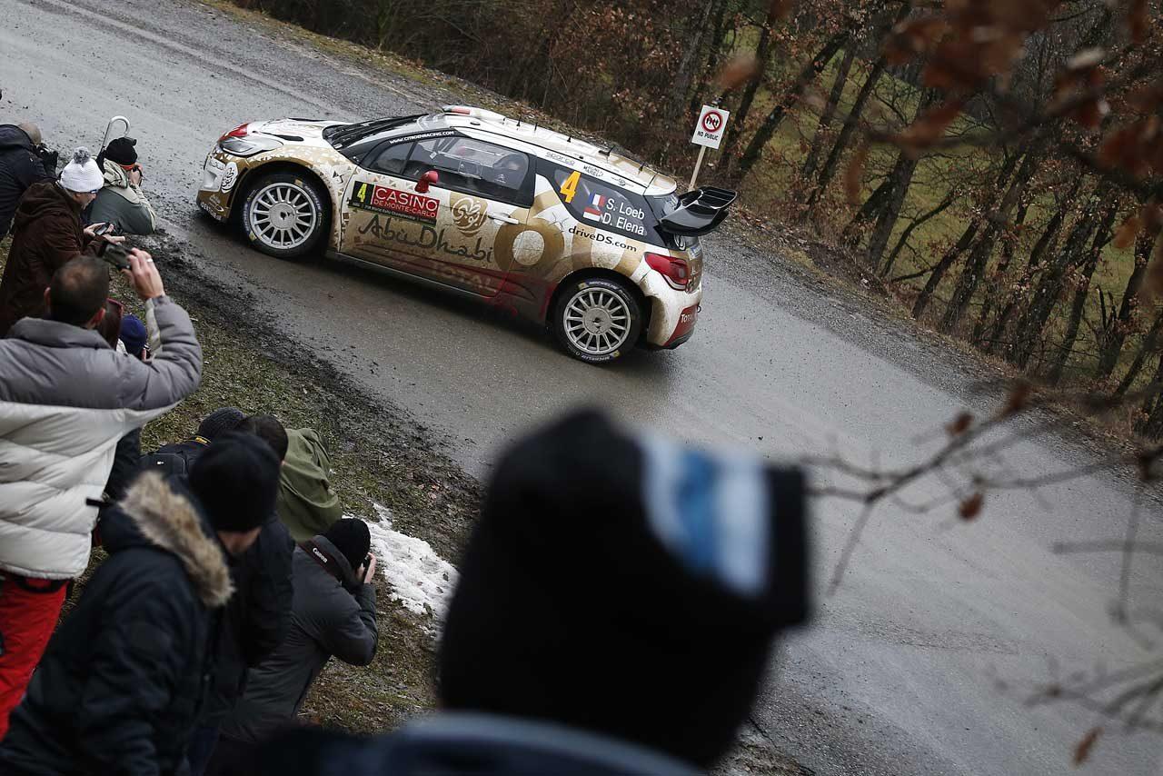WRC開幕直前テスト、復帰のローブが最速(2)
