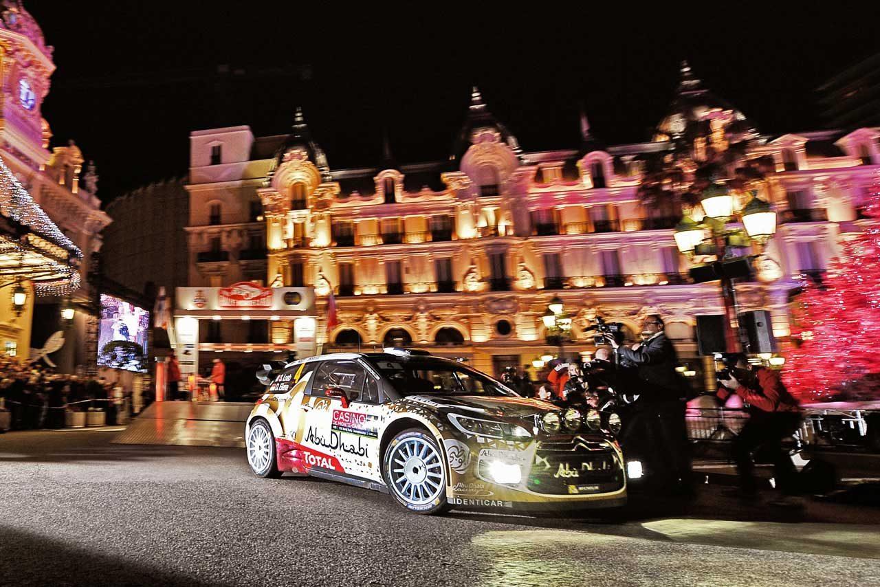WRCモンテ初日は復帰のローブ最速、オジェが続く(1)