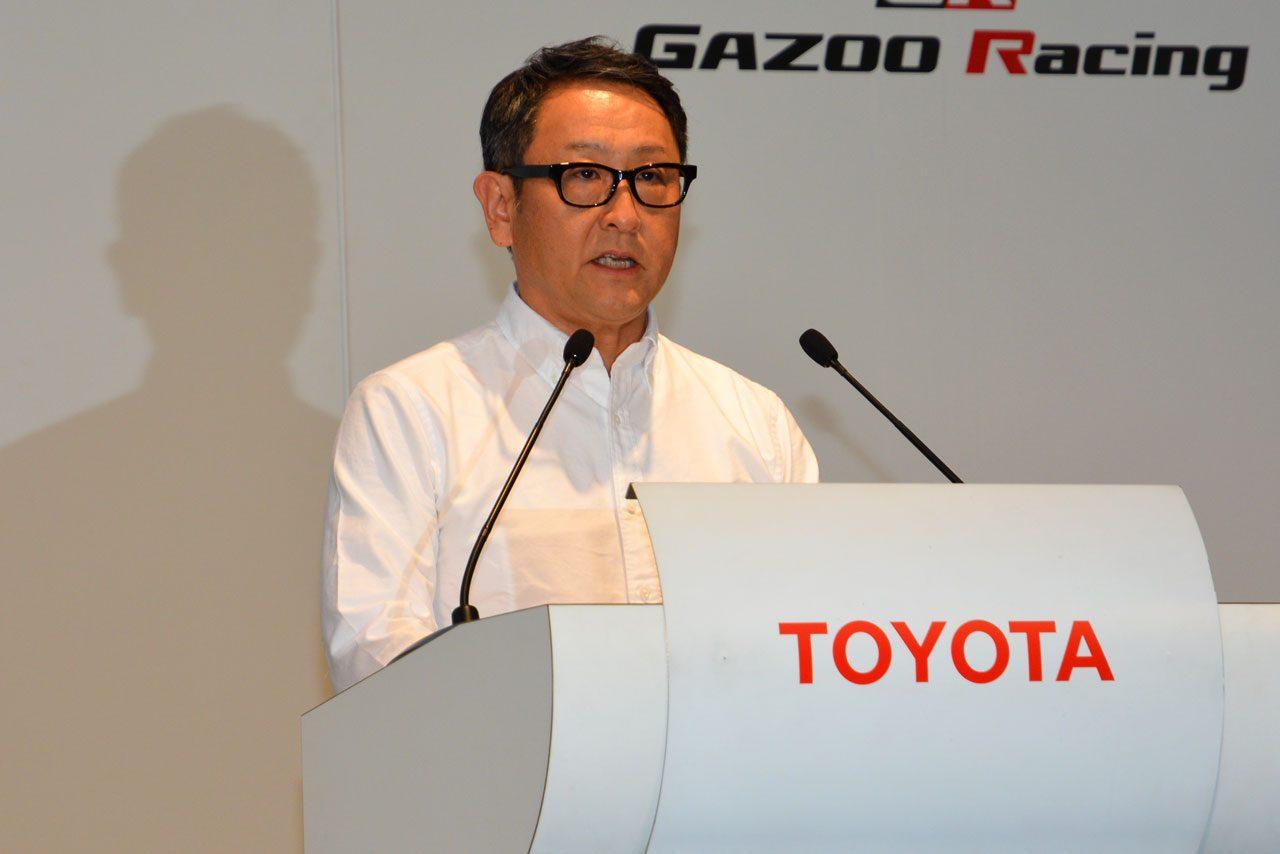 トヨタ、モータースポーツ活動発表会をライブ中継(2)