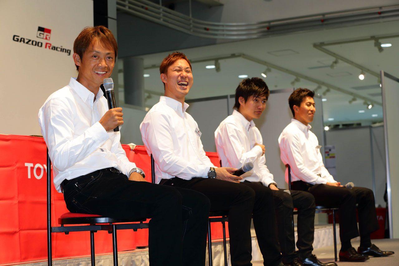 トヨタ、モータースポーツ活動発表会をライブ中継(4)