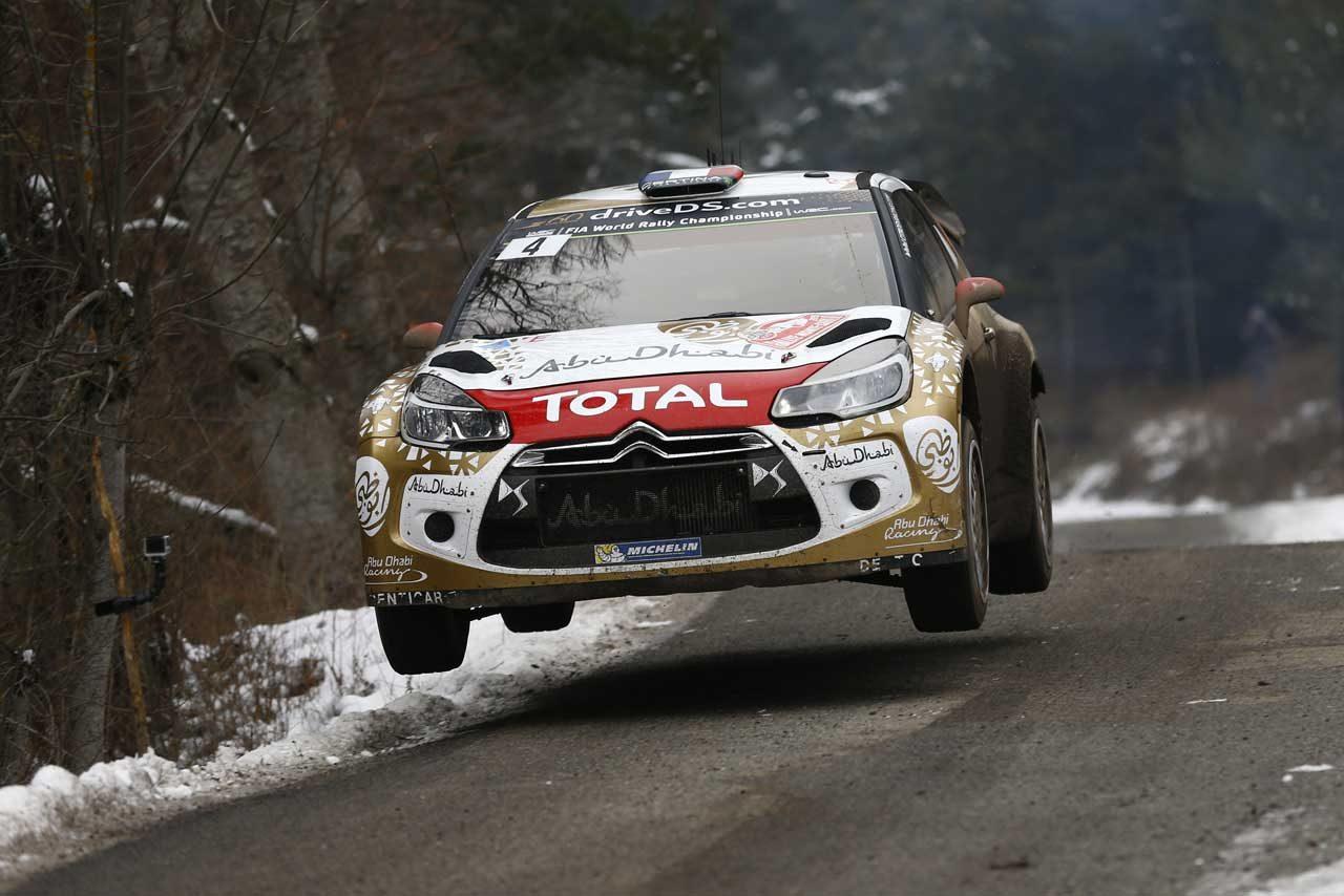 WRCモンテ2日目:ローブ後退、VWがトップ3独占(3)