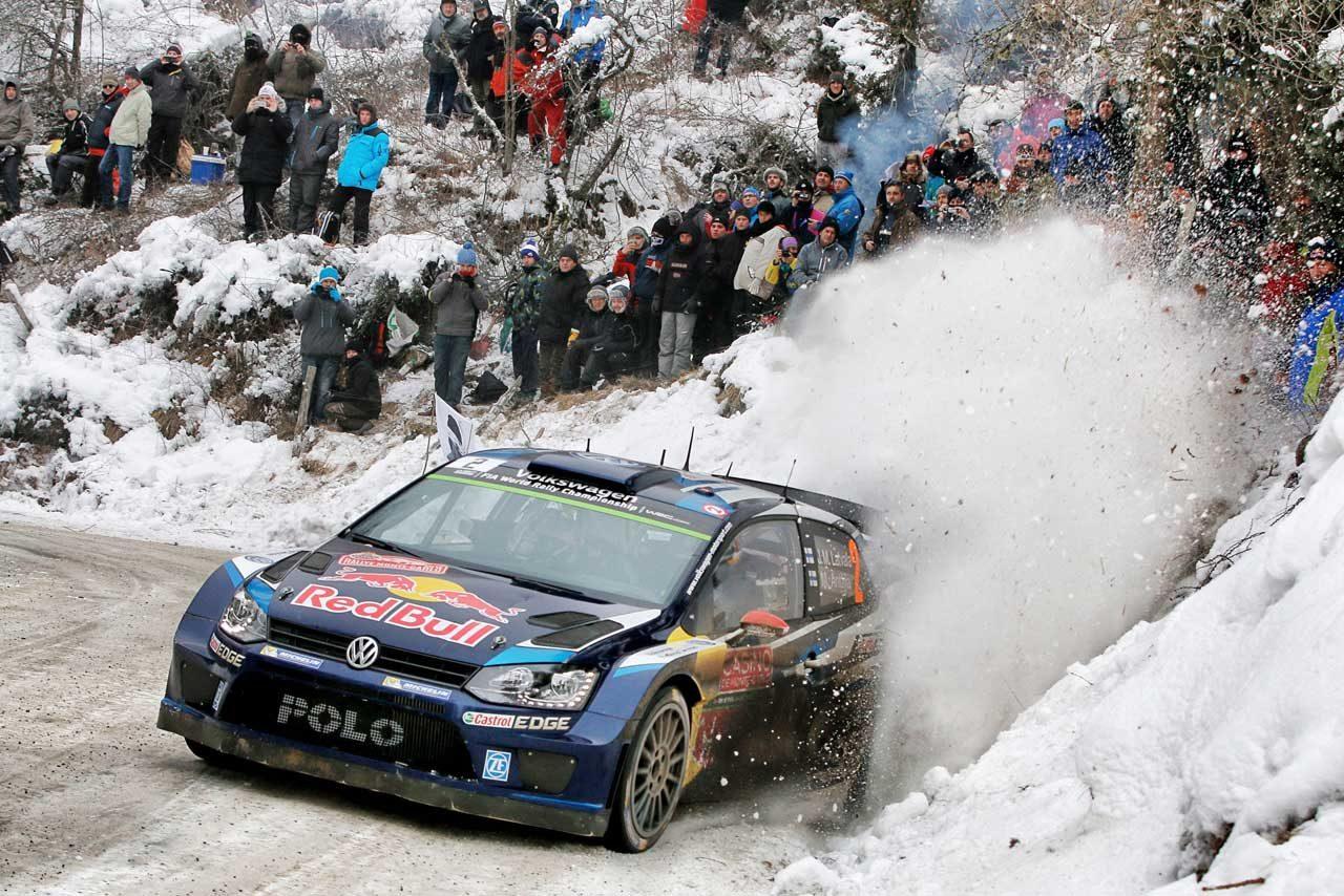 WRCモンテ2日目:ローブ後退、VWがトップ3独占(5)