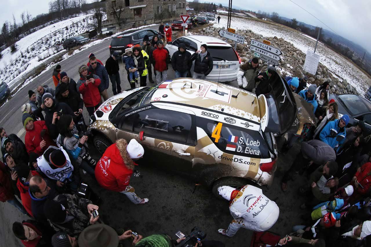 WRCモンテ2日目コメント:シトロエン&VW(5)