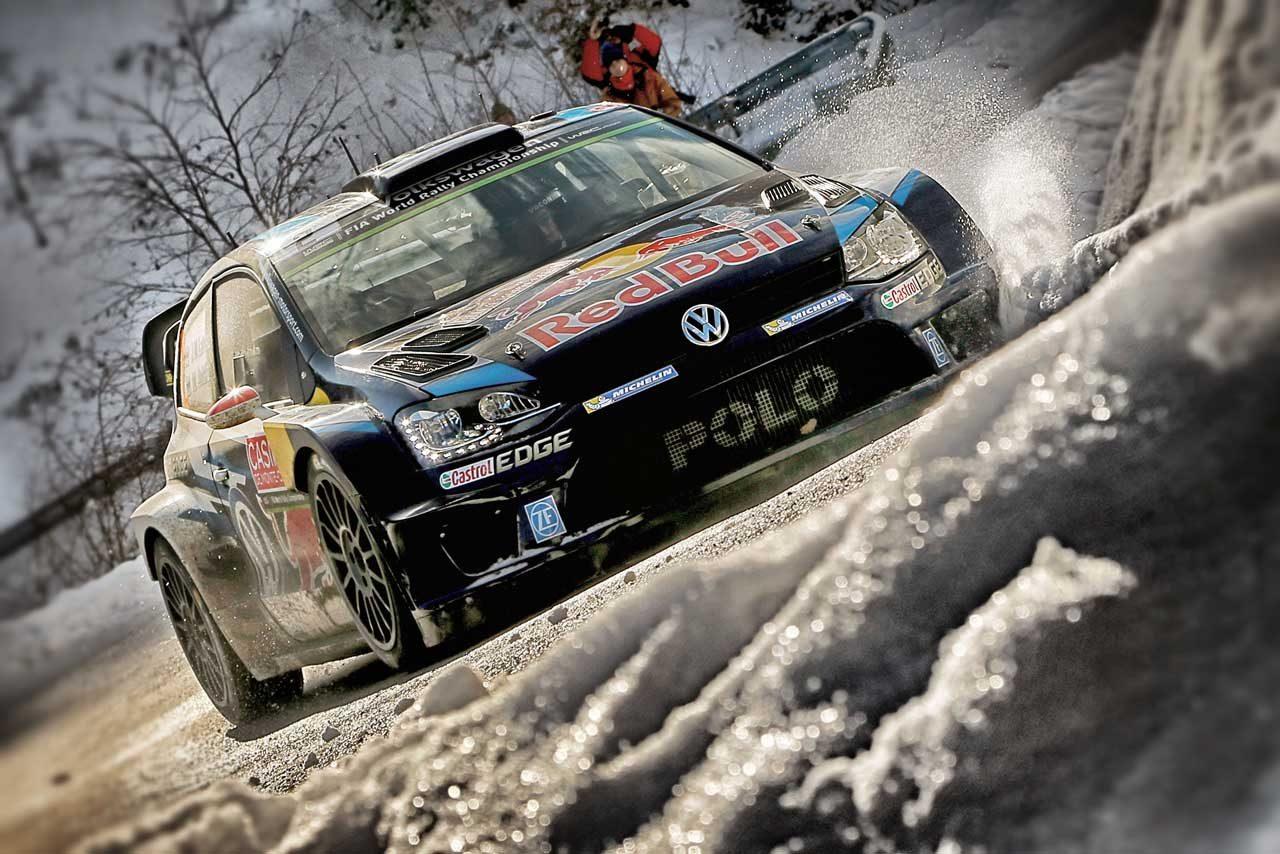 WRCモンテ3日目:VWトップ3堅持。ローブは9番手(1)