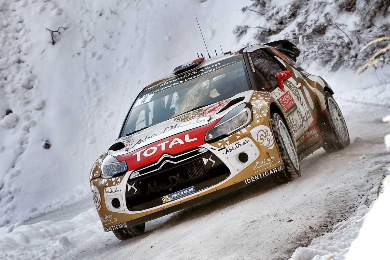 WRCモンテ3日目:VWトップ3堅持。ローブは9番手(3)