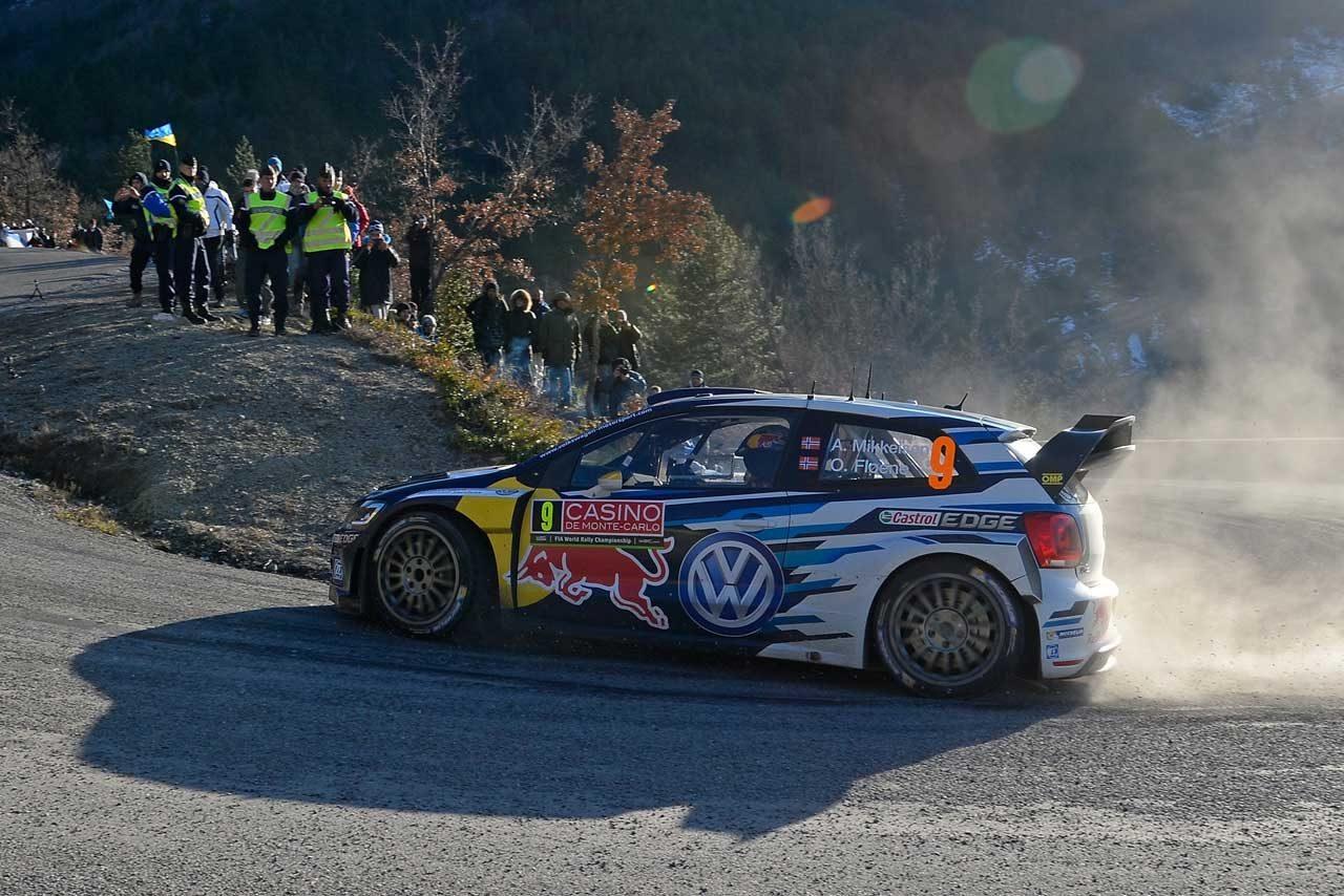 WRCモンテ3日目:VWトップ3堅持。ローブは9番手(4)