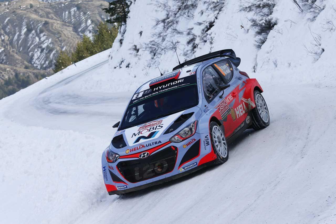 WRCモンテ3日目:VWトップ3堅持。ローブは9番手(5)