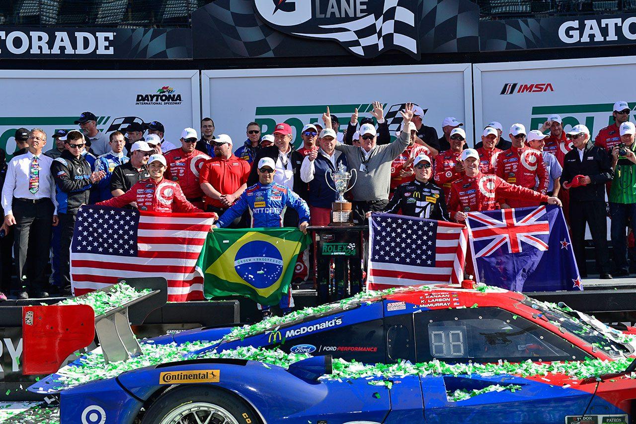 デイトナ24時間:ガナッシの02号車が総合優勝