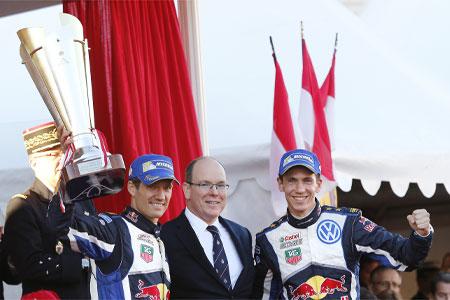 WRCモンテ最終日:オジェ2連覇。VWが表彰台独占(1)