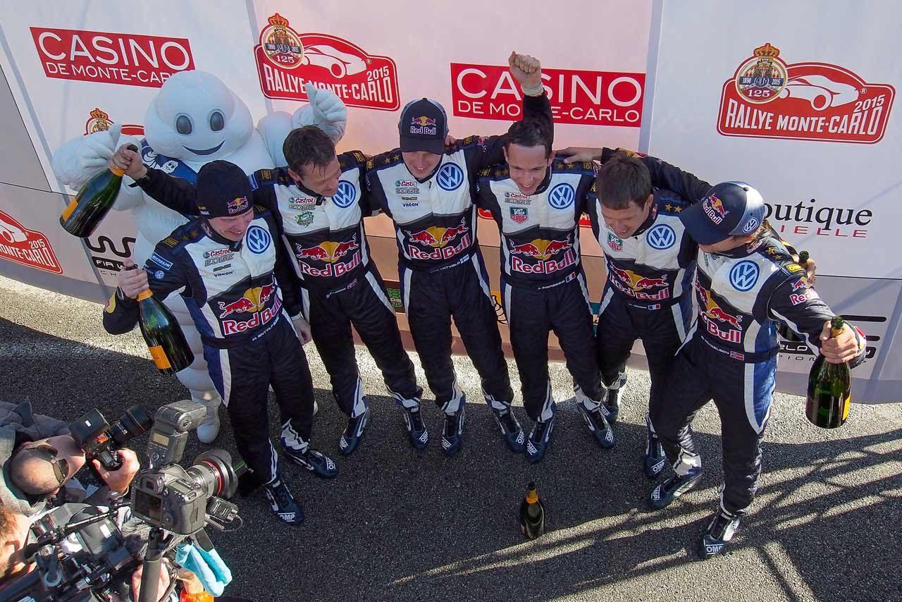 WRCモンテ最終日:オジェ2連覇。VWが表彰台独占(3)