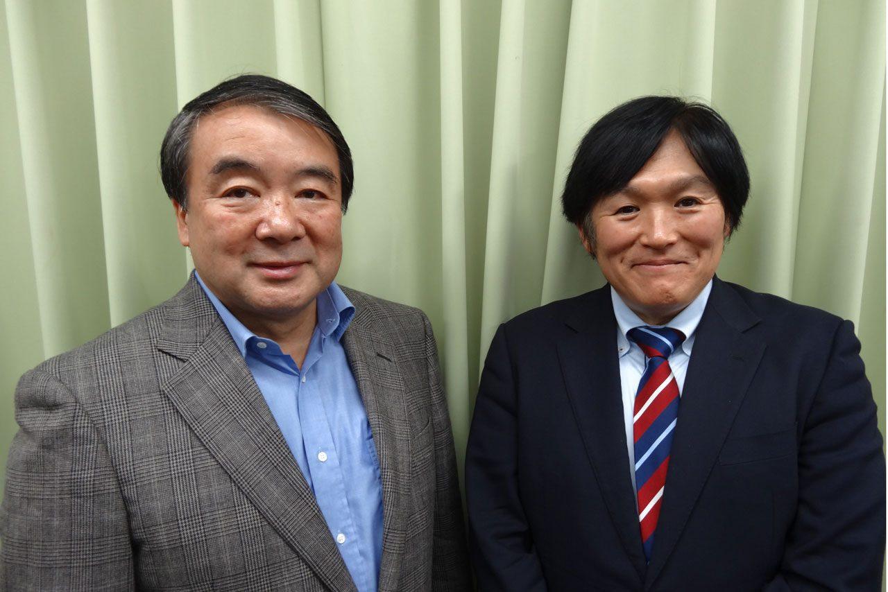 小倉氏がトークショー開催。ゲストに浜島氏が登場(1)
