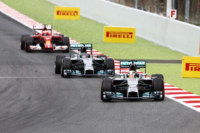 ロズベルグ「ライバルはレッドブルとウイリアムズ」フェラーリは除外(1)