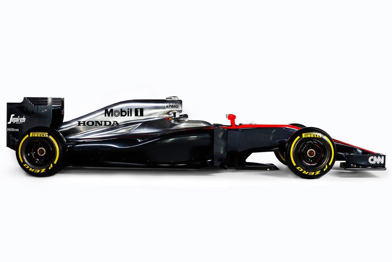 【2015 新車発表】マクラーレン・ホンダMP4-30