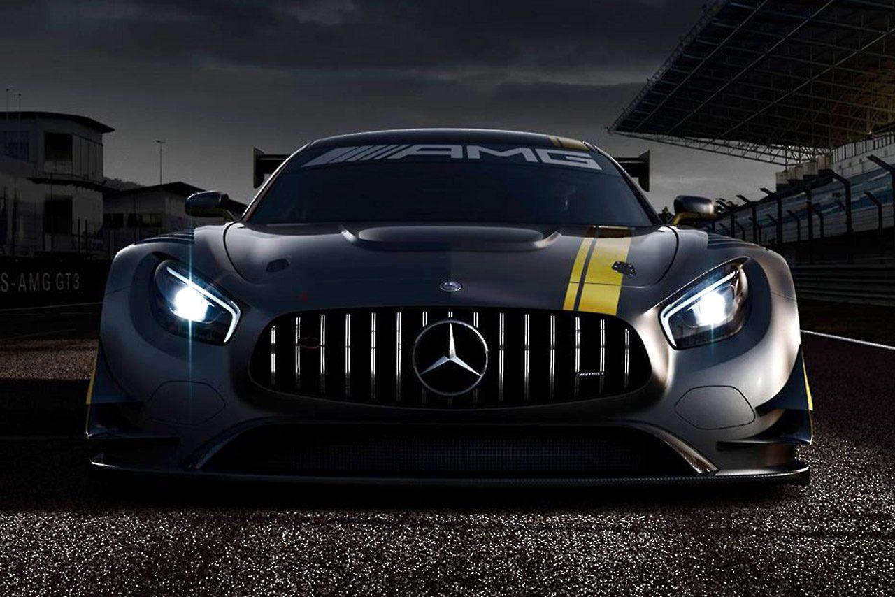AMGがメルセデスAMG-GT3のティザー画像を公開(1)