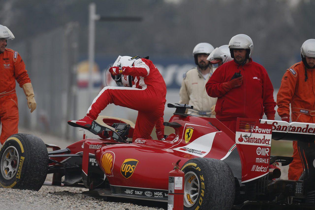 【2015 F1合同テスト】第1回バルセロナテスト3日目