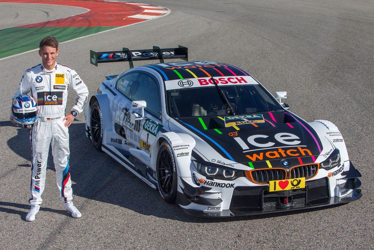 BMW、M4 DTMの6台のカラーリングを公開(1)