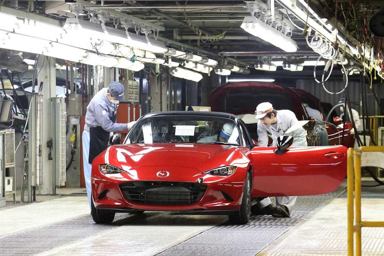 マツダ、4代目ロードスターの生産を開始(2)
